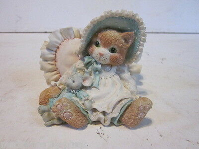 1993 Calico Kittens A Warm Hug With My Friend Girl Mouse Holding Mouse Doll