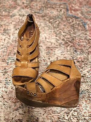 78567630ab34 Women s Bed Stu Shoes size 7.5 wedge leather
