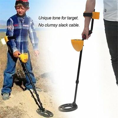 Deep Underground Metal Detector High Sensitivity LCD Screen Hunter Fin PI