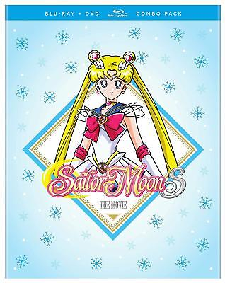 Sailor Moon S Movie Combo Pack Brand New Sealed Region A Bluray & R1 Dvd