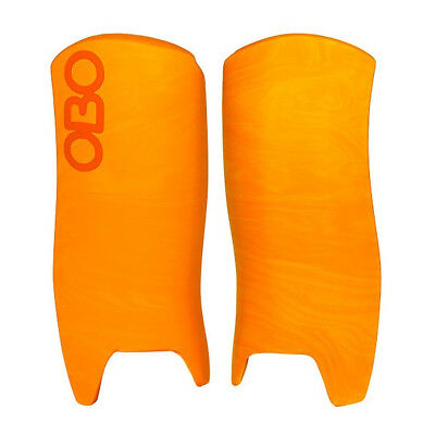 OBO Unisex OGO Hockey Goalkeeping Legguards Orange Sports Training Accessory