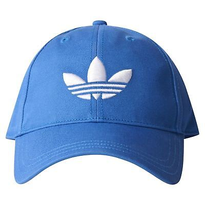 adidas ORIGINALS TREFOIL BASEBALL DAD CAP HAT BLUEBIRD SUMMER HOLIDAY RETRO NEW