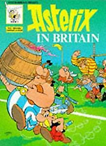 Asterix in Britain (Classic Asterix paperbacks), Goscinny, Used; Acceptable Book