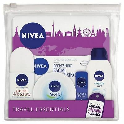 6x Nivea Up, Up & Away Travel Essentials For Women