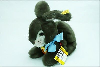 weicher 25cm STEIFF KUSCHELHASE braun old super soft CUDDLY RABBIT brown 5525/25