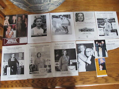 Lauren Bacall French Us Clippings