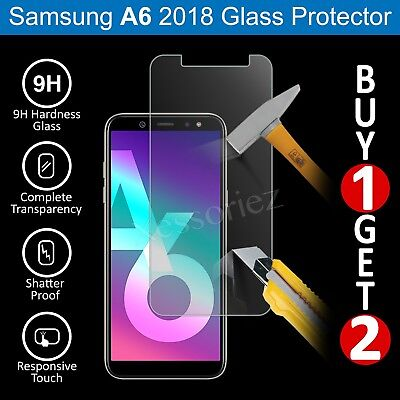 For Samsung Galaxy A6 (2018) Glass Screen Protector - 100% Genuine Tempered
