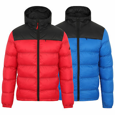 6216b26ad95 Mens Bubble Puffer Jacket Tokyo Laundry Coat Hoodie Quilted Padded HAKIM  Winter