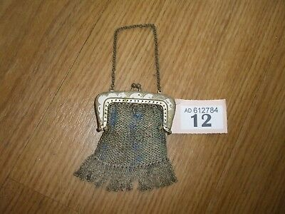Antique Ladies Chain Link Purse