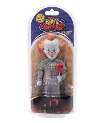 IT Pennywise Body Knocker NECA Solar Powered Horror 2017 Movie