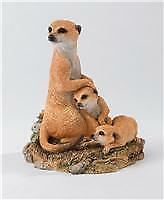 Natural World Meerkat & Cubs 'A Watchful Eye' by Country Artists, CA03078