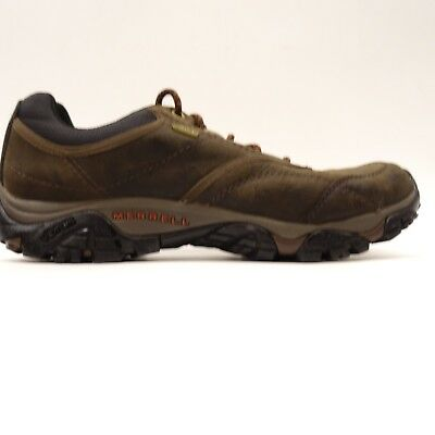 Merrell Mens Moab Rover Waterproof Leather Athletic Hiking Trail Shoes Size  12 31a157763f