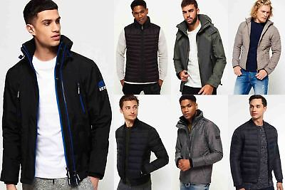 New Mens Superdry Jackets Selection - Various Styles & Colours 081020181