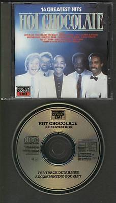HOT CHOCOLATE 14 Greatest Hits CD MUSIC FOR PLEASURE EMI West Germany