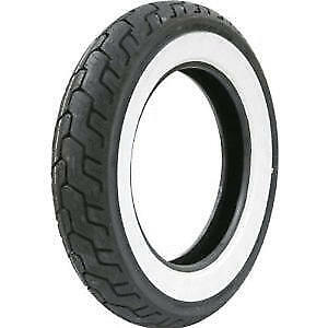 Dunlop D401 Wide White Wall 150/80 B16 71H TL Rear Motorcycle Tyre