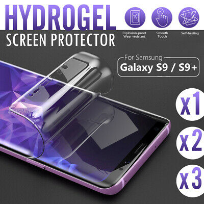 Samsung Galaxy S10 S9 S8+ S10e Note 9 8 HYDROGEL AQUA FLEXIBLE Screen Protector
