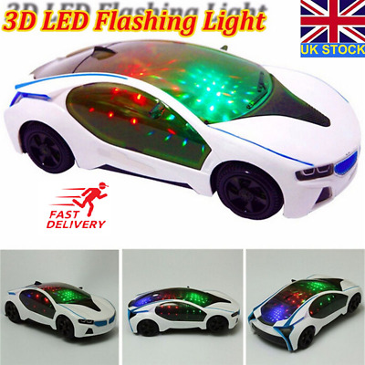 3D Car Special Lights Boys Musical Racing Kids Toy Birthday&christmas Gift