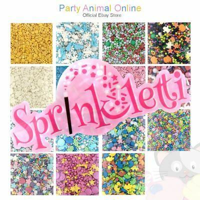 Sprinkletti - Edible Sugar Sprinkles - Perfect for cupcake and celebration cake