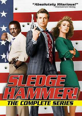 Sledge Hammer! The Complete Series New DVD! Ships Fast!