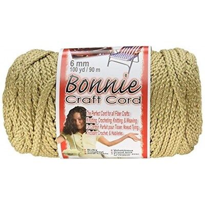 Pepperell Polyolefin Fiber Bonnie Macrame Craft Cord 6 Mmx 100 Yard-jute -