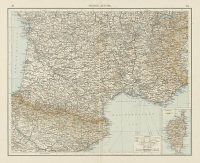 Responsible Lancashire South Part Antique County Map 1893 Old Plan Chart Maps, Atlases & Globes