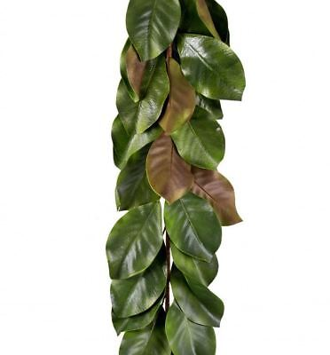 5 Foot Green Magnolia Leaf Garland