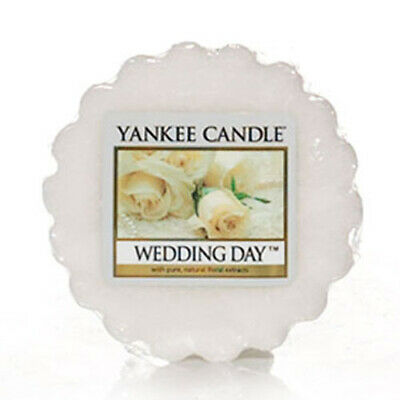 Yankee Candle Wedding Day 10 Wax Tarts / Melts FREE P&P