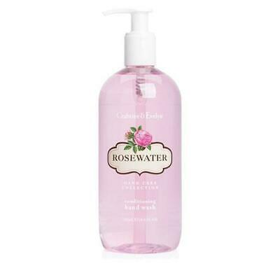 Crabtree & Evelyn Rosewater 500ml Hand Wash Pump Dispenser FREE P&P