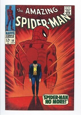 Amazing Spider-Man #50 Vol 1 Near Perfect High Grade 1st Appearance of Kingpin