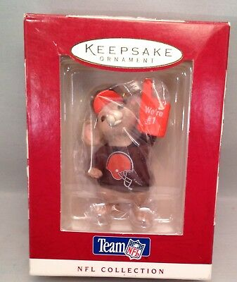 Hallmark Keepsake Ornament Cleveland Browns NFL New in Box