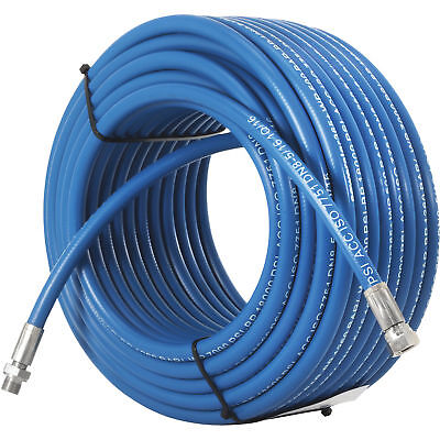 DTE Sewer Jetting Hose - 7000 PSI, 130ft. x 5/16in.