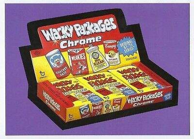 2018 Lost Wacky Packages Boxes 5th Series UNCUT CHECKLIST PUZZLE nm+