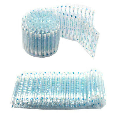 100pc Disposable Medical Alcohol Stick Disinfected Cotton Swab Care Tool Aid Kit