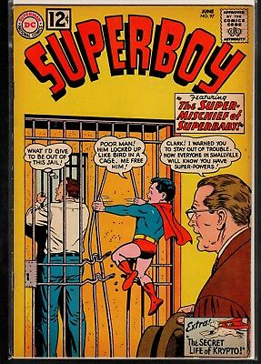 Superboy #97 FN- 5.5 DC Classic Silver Age 1962 Krypto!!!