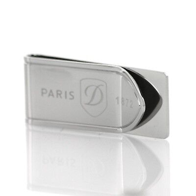 S.T. Dupont Money Clip Inox finish Stainless Steel