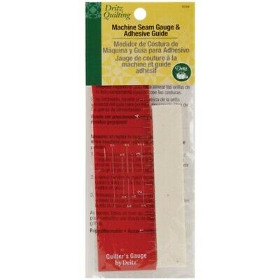 Dritz Quilting Machine Seam Gauge And Adhesive Guide - Various