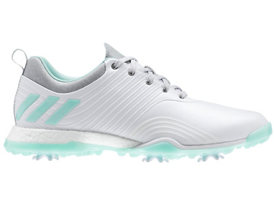 reputable site 9ddf0 9daa6 Adidas Damen Adipower Boost 4 Schuh Golf Women Shoes Weiß Mint Sport Spikes