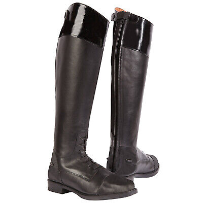 Toggi Ladies Cayman Equestrian Long Full Length Leather Horse Riding Boots New