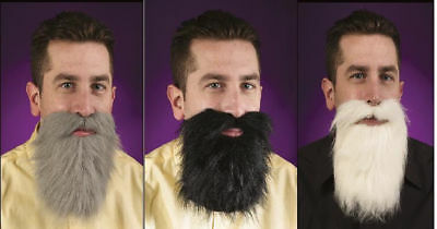 Adult Mens Facial Hair Beard And Moustache Mustache Costume Accessory NEW