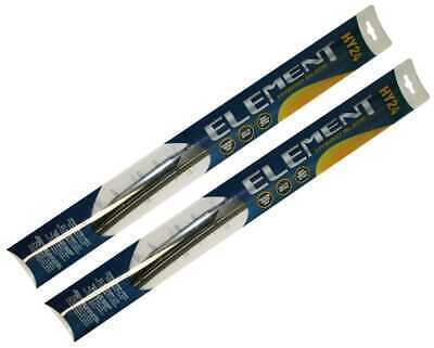 90c8d0c6beb3 Pair (2) of Element Hybrid Style Wiper Blades  24 Inch 24 Inch
