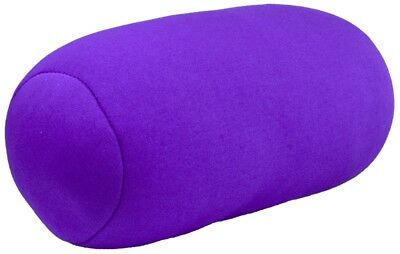"Micro Mini Microbead Cushie Roll Pillow 3.5"" x 8.5"" - Purple"