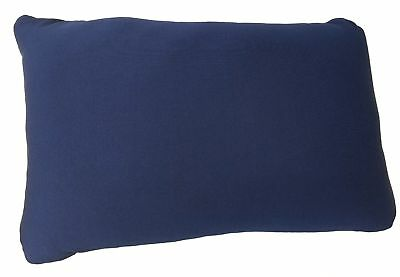 "Microbead Cushie Navy Rectangle Pillow 13.5"" x 10"""