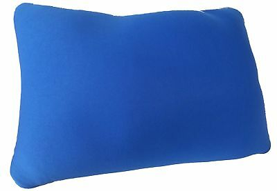 "Microbead Cushie Blue Rectangle Pillow 13.5"" x 10"""