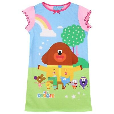 Hey Duggee Nightdress I Girls Hey Duggee Nightie I Kids Squirell Club Pyjamas