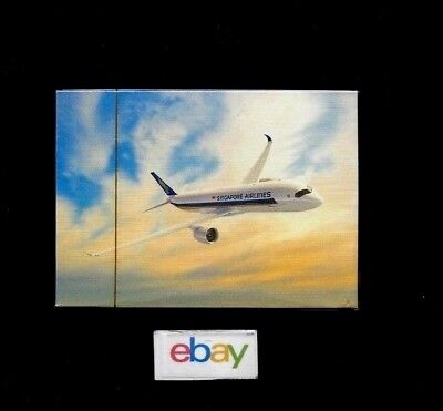 Singapore Airlines Airbus A-350 Playing Cards Sealed
