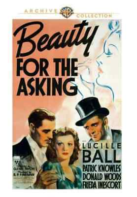 Belleza For The Asking DVD (1939) - Lucille Bola, Patric Knowles, Donald Woods