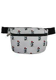 Fanny Pack - Disney - Minnie Mouse Gray New wdtb1307