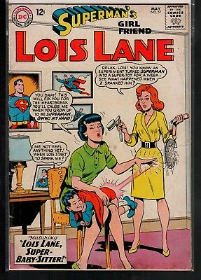 Superman's Girlfriend Lois Lane #57 VG 4.0 DC Classic Silver Age 1965!!!