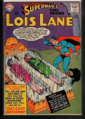 Superman's Girlfriend Lois Lane #60 VG- 3.5 DC Classic Silver Age 1965!!!