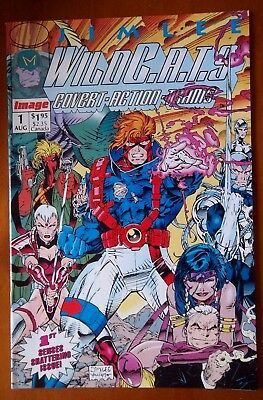 Image Comic WildCats Covert Action teams #1 first issue 1992